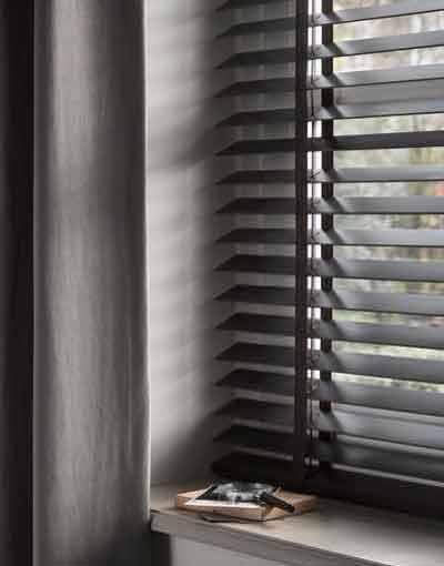 houten raamdecoratie shutters horizontale lamellen